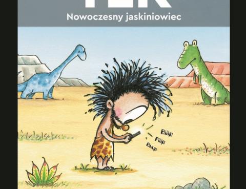 TEK_Nowoczesny_jaskiniowiec_okladka_ksiazki_